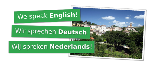 We speak english. Wir sprechen Deutsch. Wij spreken Nederlands.